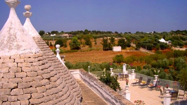 VIEW FROM THE TRULLO