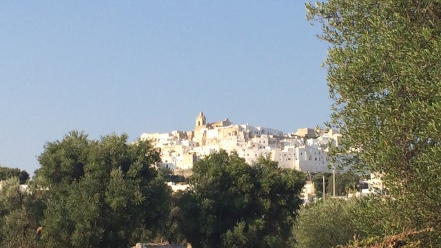 Ostuni from drive