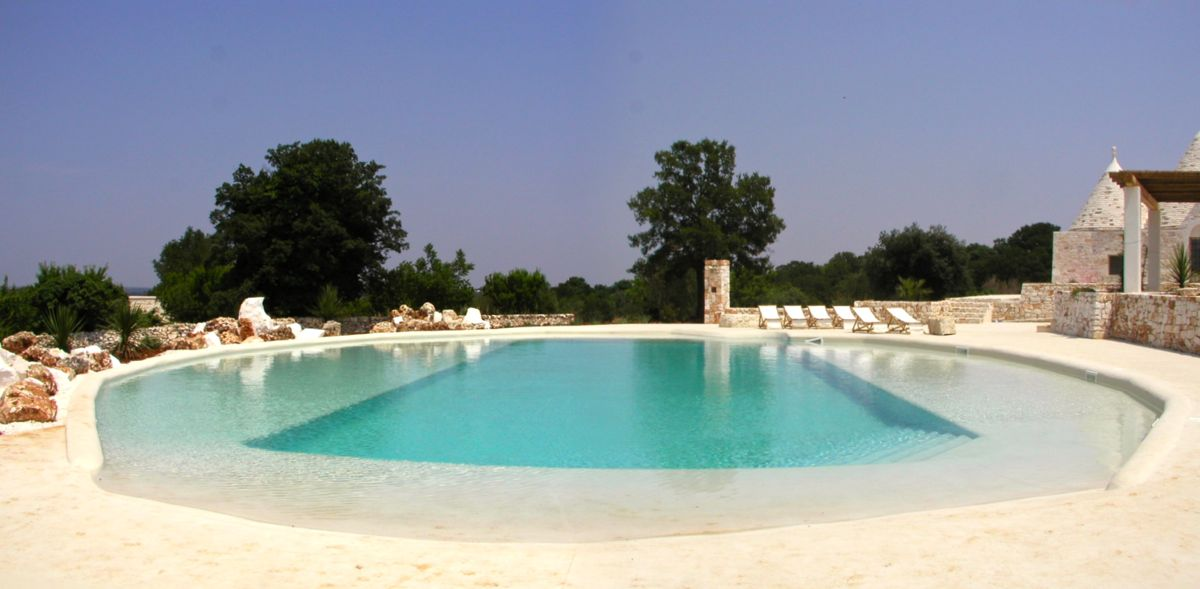 Pool panorama midday