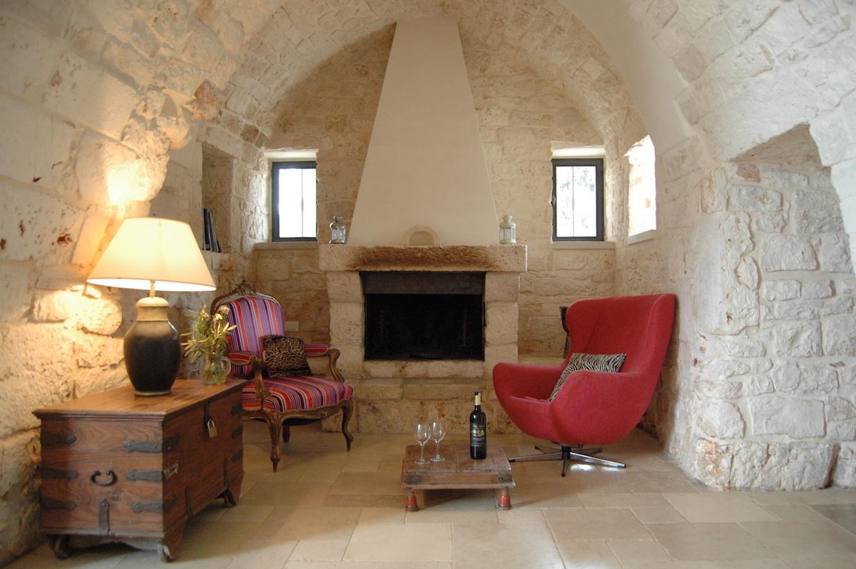 little sitting room off soggiorno